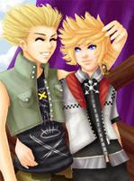 -KH2- Best Friends Forever by GawainesAngel