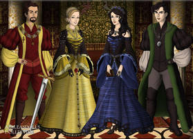 Hogwarts Founders by Alinex29