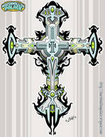 Personal Cross Completed by baby-marshmallow