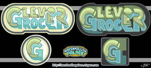 Clever Grocer Logo Commission by baby-marshmallow