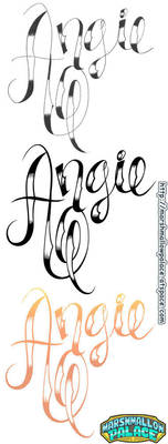 Angie Logo Commission vector by baby-marshmallow