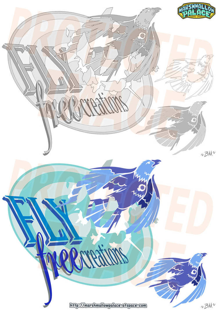 Flyfree Vector Logo Commission by baby-marshmallow