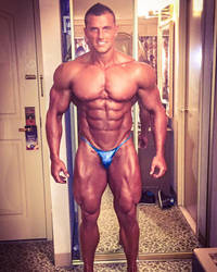 Samuel Dixon,hot And Hot No Fill Poser by roidedmusclefan