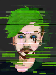 Antisepticeye :: Dark Youtubers :: by KnightNDayArt