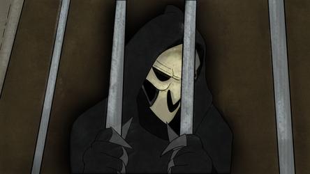 Reaper in Jail by KnightNDayArt
