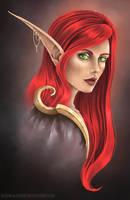 Aelynith Sunraven by RedDragonAmy