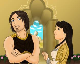 Dastan and Tamina by BlueRose177