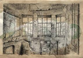 Ruine old paper by nicolasjolly