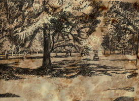 Mussonville park old paper by nicolasjolly