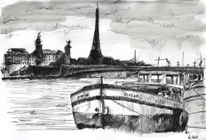 For sale original - Peniche - Paris by nicolasjolly