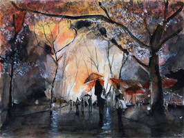 Autumn Rain by nicolasjolly