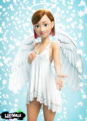 Christmas Angel by UGAROMIX