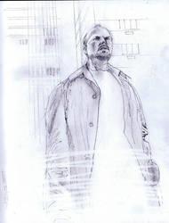 Michael Keaton by Fusciart