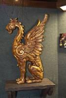 HotR : Gryphon Statue 01 by taeliac-stock