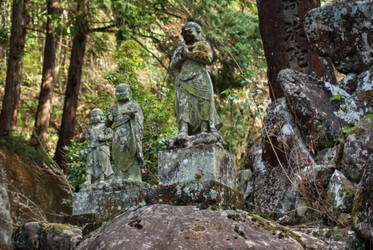 Statue: Mt Hachiman: 12 by taeliac-stock