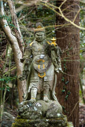 Statue: Mt Hachiman: 11 by taeliac-stock
