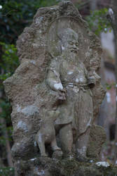 Statue: Mt Hachiman: 06 by taeliac-stock