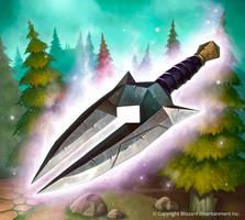 Time-Shifted Dagger by Zagumennyy