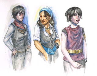 Dragon Age - modern style by liannimal