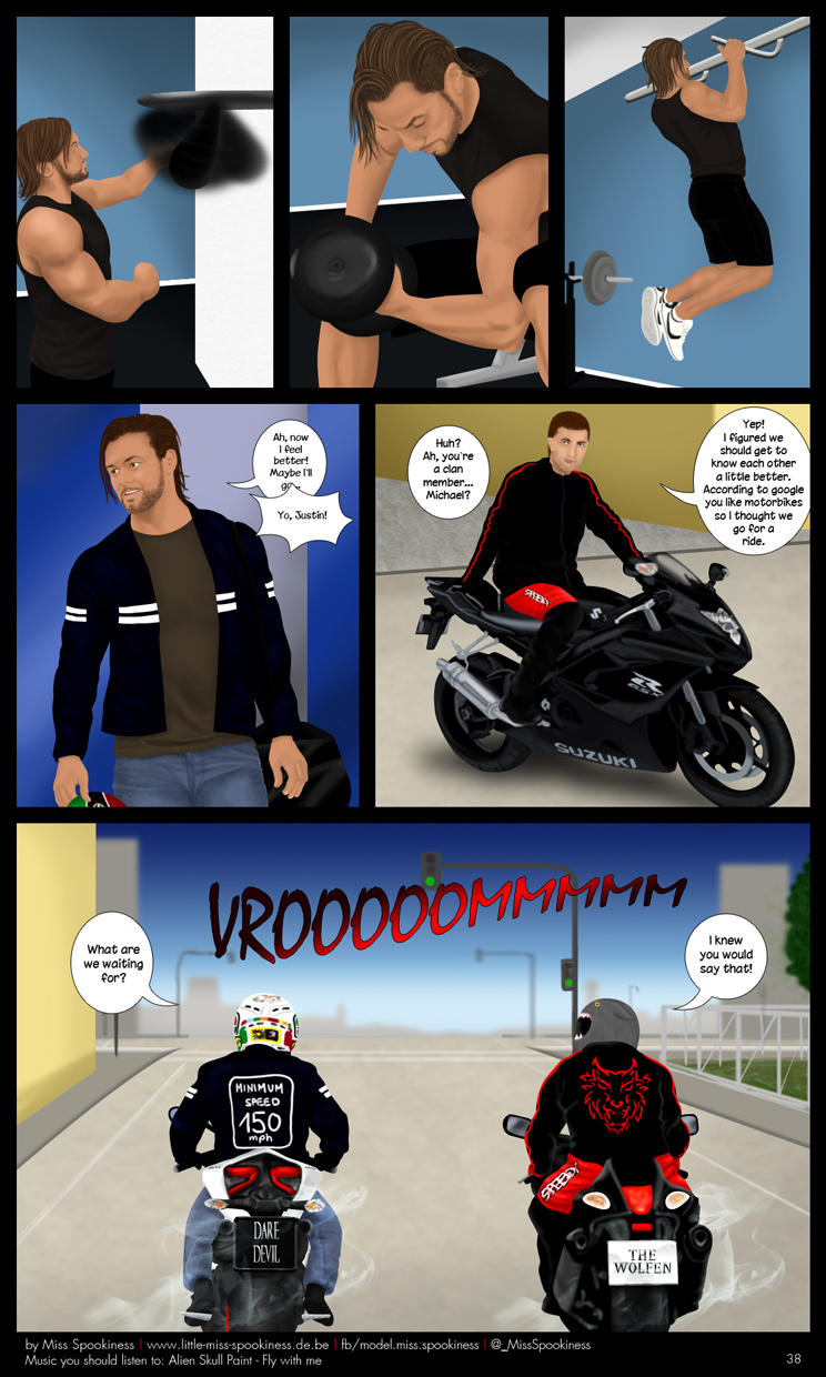 Cape Town Werewolf Comic - Page 38 by ChristinaDeath
