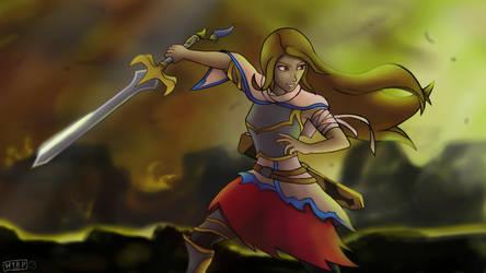 Knight Rachel by Harpu89