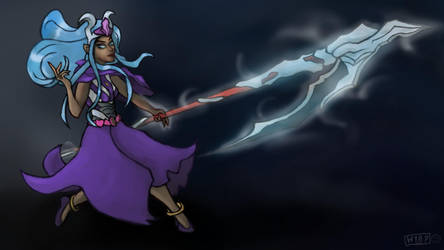 Scythe witch by Harpu89