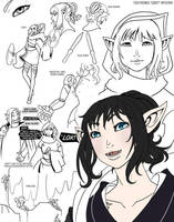 Parcour elf by drowtales