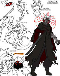 tsuris demon by drowtales