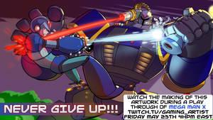 Megaman x by drowtales