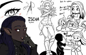 Ischa by drowtales