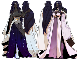 Vlashrod Neh dresses by drowtales