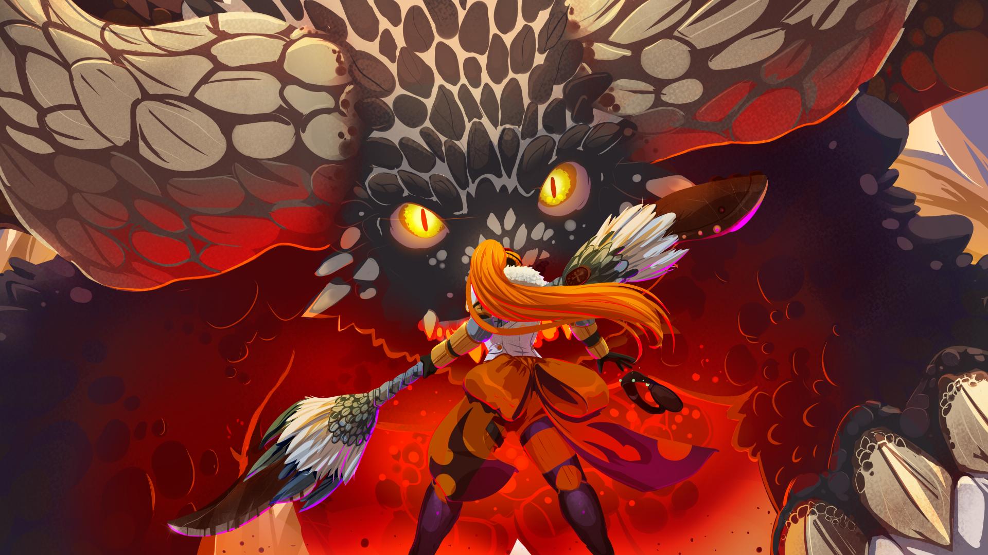 Monster hunter nergigante by drowtales