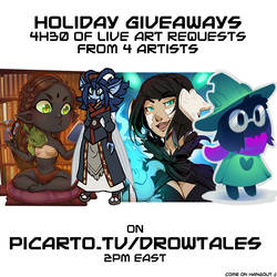 holiday Giveaway by drowtales
