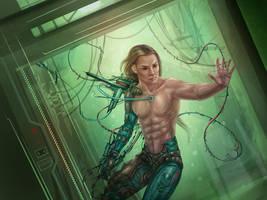 cyborg by Vasylina
