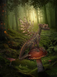 little Dragon by Vasylina