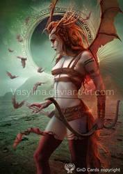 Bloody Zodiac. Sagittarius by Vasylina