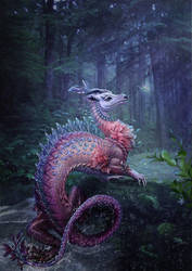 water dragon by Vasylina