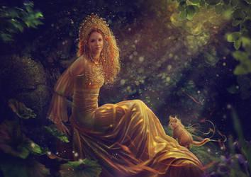 Slavic mythology. Zlata Maja by Vasylina