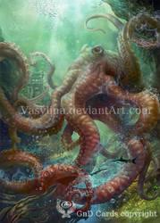 octopus by Vasylina