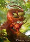 Little-dragon by Vasylina