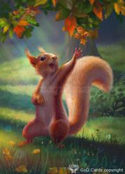 Squirrel by Vasylina