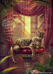 Egyptian cat by Vasylina