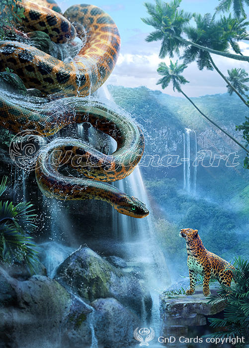 anaconda by vasylina on deviantart