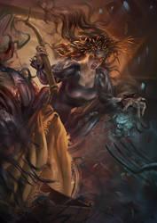The Nocnitsa, a nightmare spirit by Vasylina