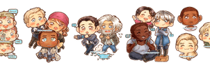 Detroit: Become Human - Chibi Edition by anniabstract