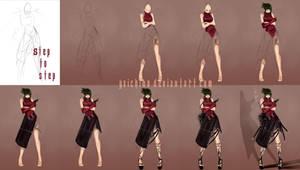 Step to step - Asiawoman by yaichino