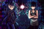 Ciel vs Shirato by yaichino