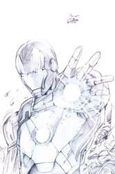 iron man by yaichino
