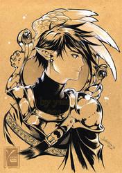 Rei - soldier by yaichino