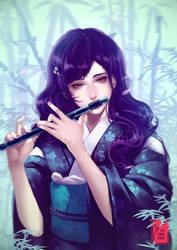 Masuzawa Saya - Commission by yaichino